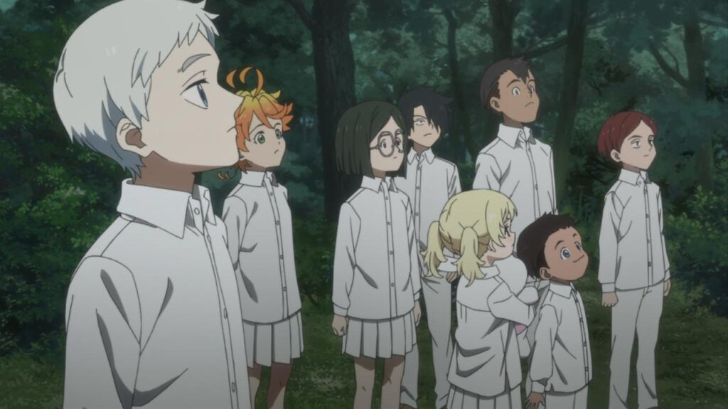 Yakusoku no Neverland 1ª Temporada