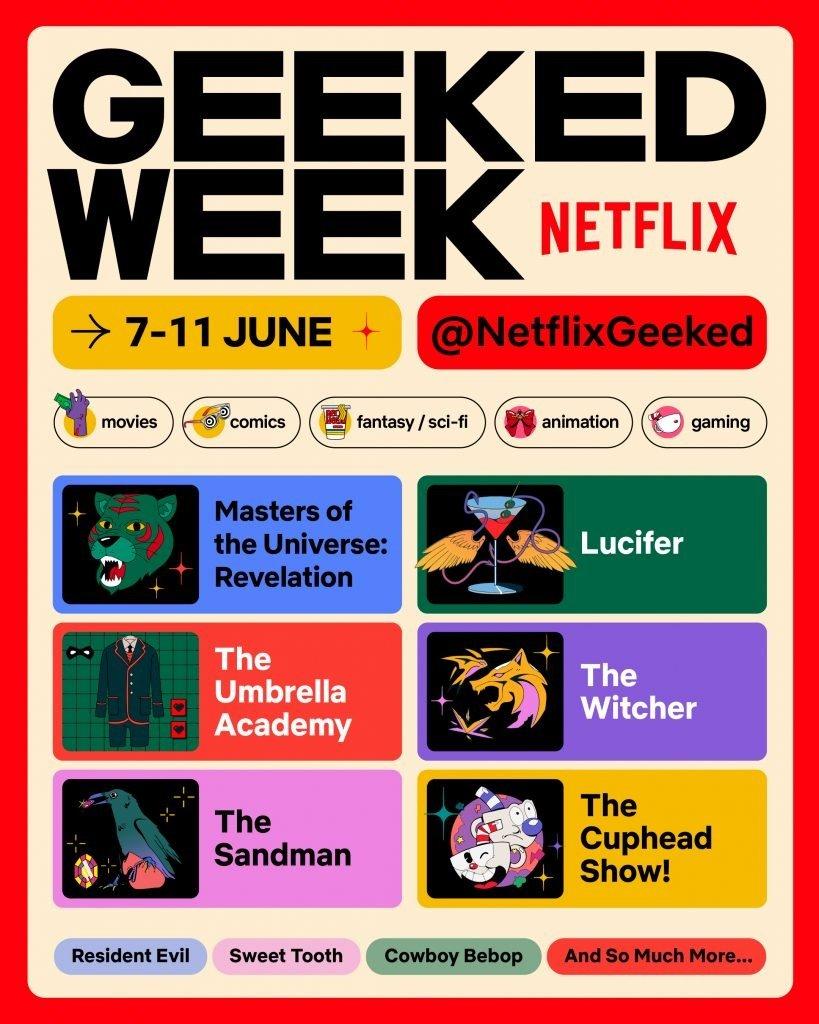 Semana Geeked   Netflix fará evento digital para o público Geek