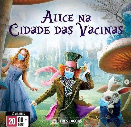 Prefeitura de Três Lagoas faz campanha de vacinação com filmes, animes e séries